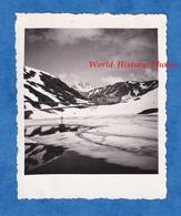 Photo Ancienne Snapshot - Col Du GRAND SAINT BERNARD - Juillet 1936 - Montagne Bourg St Pierre Suisse Valais - Plaatsen