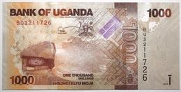 Ouganda - 1000 Shillings - 2013 - PICK 49b - NEUF - Ouganda