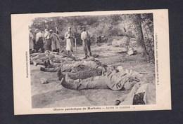 Guerre 14-18 Oeuvre Patriotique De Marbotte (55) Après Le Combat ( Cadavres Soldats ) - Altri Comuni