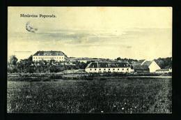 CROATIA HRVATSKA,  MOSLOVINA  POPOVAČA  1928    VF USED POSTCARD - Croatie