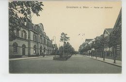 ALLEMAGNE - HESSE - GRIESHEIM - Partie Am Bahnhof - Griesheim