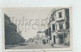 Karachi (Pakistan) : Hinston Street En 1945 (animé)  PF. - Pakistan