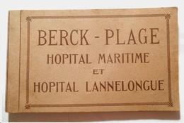 62 . BERCK SUR MER . Carnet De 20 Cartes Hôpital Maritime Et Lannelongue - Berck