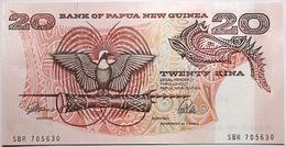 Papouasie-Nouvelle Guinée - 20 Kina - 1989 - PICK 10a - NEUF - Papua Nueva Guinea