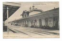 CPA 70 AILLEVILLERS La Gare - Francia
