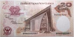 Papouasie-Nouvelle Guinée - 20 Kina - 2008 - PICK 36a - NEUF - Papua Nueva Guinea