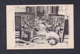 Guerre 14-18 Oeuvre Patriotique De Marbotte  Interieur De L' Eglise Un Soir D' Attaque ( Cadavres Soldats ) - Altri Comuni