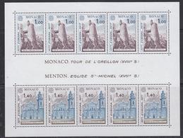 Europa Cept 1977 Monaco M/s ** Mnh (45321) - 1977