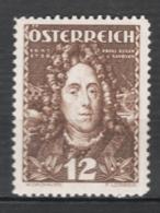 Austria 1935 Unif.471 **/MNH VF/F - Nuovi