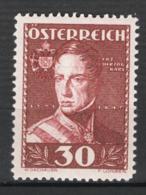 Austria 1935 Unif.473 **/MNH VF/F - Nuovi