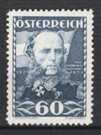 Austria 1935 Unif.475 **/MNH VF/F - Nuovi