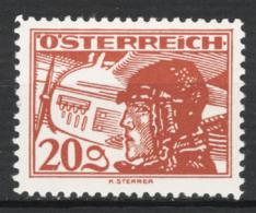 Austria 1925 Posta Aerea Unif.A20 **/MNH VF/F - Poste Aérienne