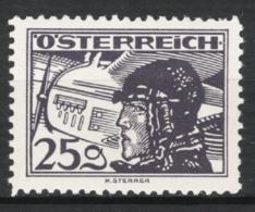 Austria 1925 Posta Aerea Unif.A21 **/MNH VF/F - Poste Aérienne