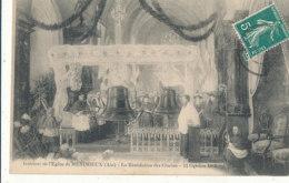01 // MEXIMIEUX   Intérieur De L'église   Bénédiction Des Cloches   11 Octobre 1908 - Autres Communes