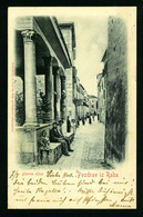AK  Croatia-----Rab (Arbe)-----old Postcard   GLAVNA ULICAVF   POSTCARD - Croatia