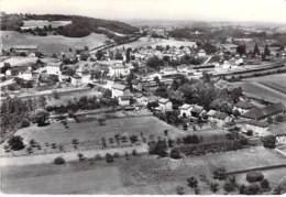 38 - SAINT ANDRE LE GAZ : Vue Aérienne - CPSM Village ( 0.000 Habitants) Dentelée Noir Blanc Grand Format CPA- - Saint-André-le-Gaz