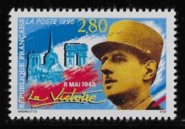 N° 2944 8 MAI 1945 LA VICTOIRE NEUF ** TTB COTE 1,50 € - France