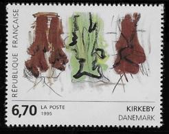 N° 2969 SERIE EUROPEENNE D'ART CONTEMPORAIN NEUF ** TTB COTE 3 € - France