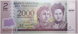 Paraguay - 2000 Guaranies - 2008 - PICK 228a - NEUF - Paraguay