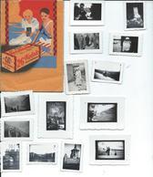 Lot 14 Photos Divers Sous Poche Kodak     En  1938 - Personnages