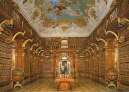 Osterreich - Postcard Unused - Melk Abbey  - Library - Melk