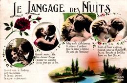 CPSM Le Langage Des Nuits - Couples