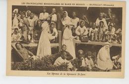 ASIE - BIRMANIE - MANDALAY - Les Lépreux De La Léproserie Saint Jean-Les Franciscaines Missionnaires De Marie En Mission - Myanmar (Burma)