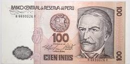 Pérou - 100 Intis - 1986 - PICK 132b - NEUF - Perú
