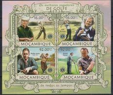 Mozambique 2013 Golf Lions Club MNH - Rotary, Lions Club