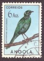 Angola 1951-  Aves De Angola - Birds 6A  (Heteropsar Acuticaudus - Estorninho ) - Angola