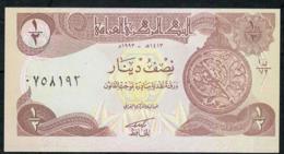 IRAQ P78 1/2 DINAR  1993 UNC. - Iraq