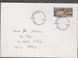 FRANCE 1 Env Premier Jour Postée N°YT 2852 20 Nov 1993  Bicentenaire Révolution Française Musée Du Louvre - Franz. Revolution