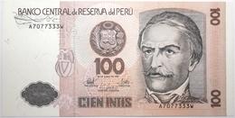Pérou - 100 Intis - 1987 - PICK 133 - NEUF - Perú