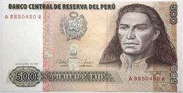 Pérou - 500 Intis - 1987 - PICK 134b - NEUF - Perú