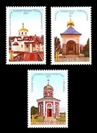 Moldova (Transnistria) 2019 No. 917/19 Chapels Of Transnistria MNH ** - Moldova