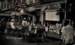 INDIA // INDE. HOLY CART. REAL PHOTO - India