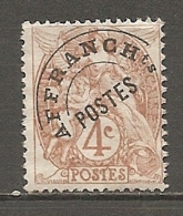 PREO Yv. N° 40 TypeI (o)  4c  Type Blanc   Cote  1 Euro BE   2 Scans - Préoblitérés