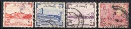 XP4031 - PAKISTAN 1955 , Yvert Serie N. 73/76  Usata  (2380A) - Pakistan