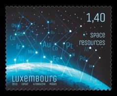Luxembourg 2019 Mih. 2214 Space Resources (foil) MNH ** - Luxembourg
