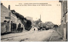 78 CONFLANS-SAINTE-HONORINE - Rues De La Côte, Victor Hugo Et De L'Hotel De Ville - Conflans Saint Honorine