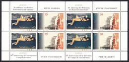 Slovenia 1995 Europa CEPT Peace And Freedom, Mini Sheet MNH - Slovenia