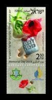 Israel 2018 Mih. 2617 Memorial Day For The Fallen Soldiers Of Israel And Victims Of Terrorism MNH ** - Neufs (avec Tabs)