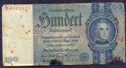 Germany 100 Reichsmark 1935 F++    P- 183a - [ 3] 1918-1933 : República De Weimar