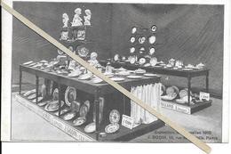 Bruxelles -  Exposition 1910 J Godin Paris - Non Circulé- - - Expositions Universelles