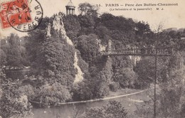 CARTE POSTALE ANCIENNE 75 PARIS PARC DES BUTTES CHAUMONT  EDITIONS / M.J  N° 24 - Parcs, Jardins