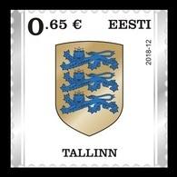 Estonia 2018 Mih. 922 Definitive Issue. Arms Of Tallinn MNH ** - Estland