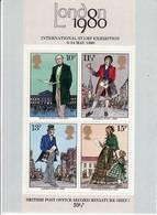 Grande-Bretagne. Rowland Hill. Bloc Feuillet 2, 1978, Yvert 909à 912, Neuf - Unused Stamps
