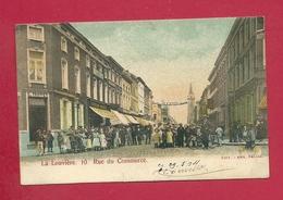 C.P. La Louvière = Rue  Du COMMERCE  10 - La Louvière
