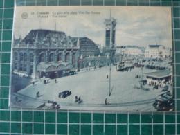 Oostende Ostende Gare Et Plaçe Van Der Sweep - Oostende