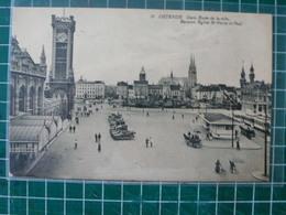 Oostende Ostende Gare. Entrée De La Ville - Oostende